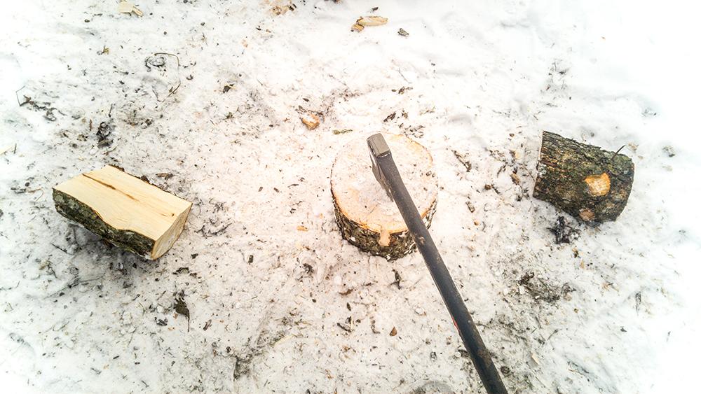 Fere splitting axe 2200 kraštests.