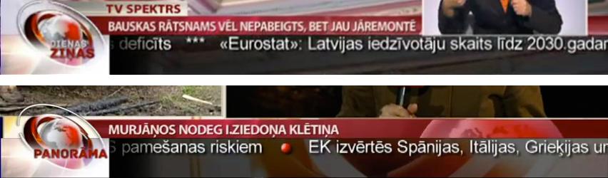 LTV ziņu dienesta galviņu grafiskā revolūcija.