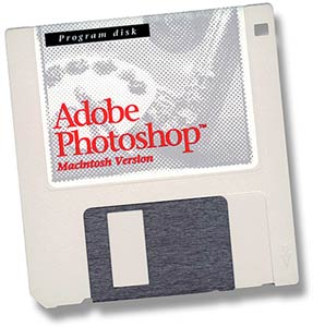 Photoshop 1.0 installation disk