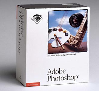 Photoshop 1.0 original box
