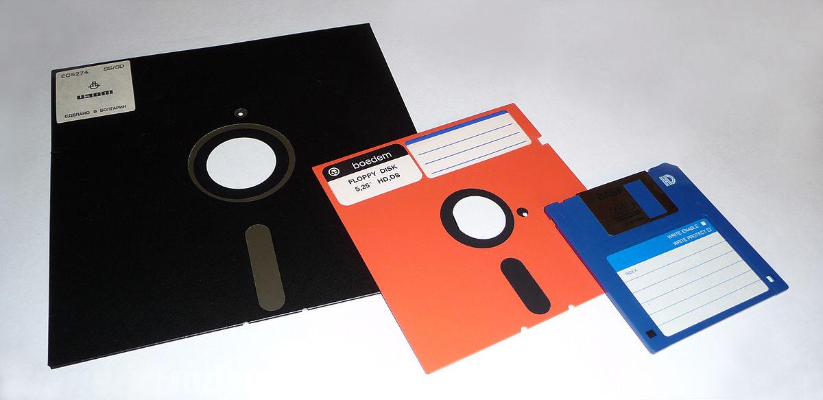 Disketes. Foto: Wikipedia