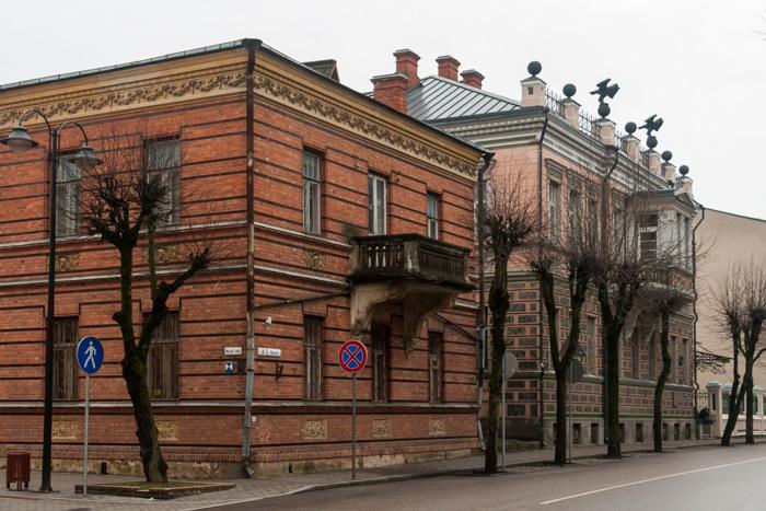 Daugavpils novadpētniecības un mākslas muzeja ēku komplekss.
