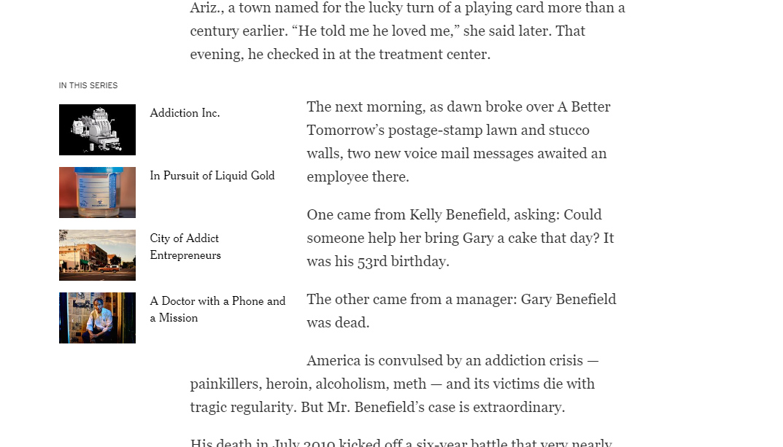 New York Times ielauzums ar daļēju iznešanu ārpus rindas.