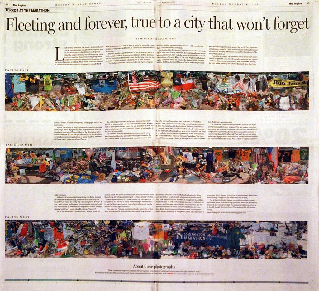 SND sudraba medaļa. Boston Globe maratona terorakta atspoguļojums. Otrais atvērums.