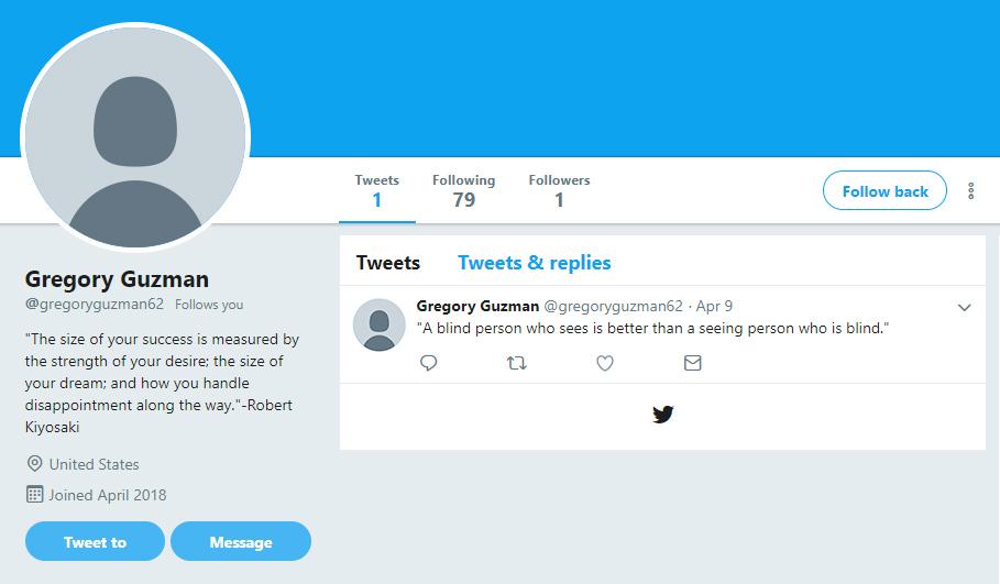Tvitera sekotājs–olgalvis.