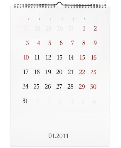 ArtLebedev studijas kalendārs