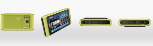 Nokia N8 no visām pusēm.