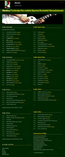 festivāls Zvērā 2009. Programma.