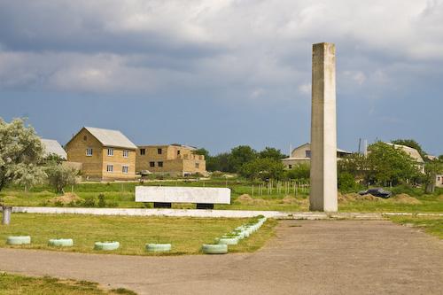 Nerubaiska, Ukraina, obelisks