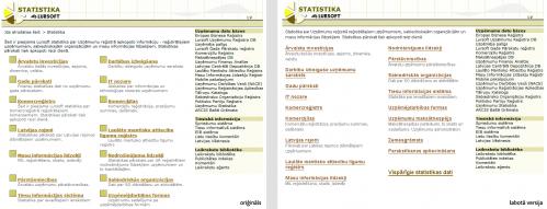 Lursoft Statistika mājaslapas uzlabojumi.