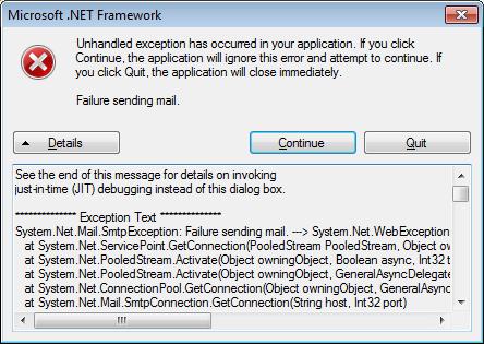 Microsoft .NET Framework shit
