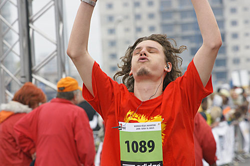 Nordea Rīgas maratons photofinish Sergejs