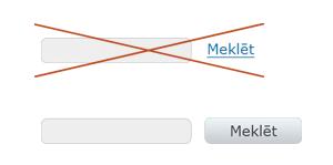 Pogas vai saites lietošana meklēšanas formā.