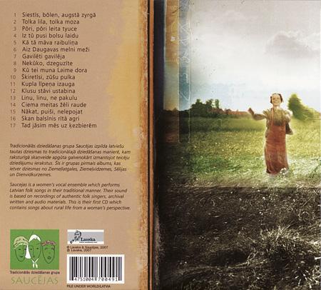 Saucējas CD
