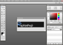 Splashup interface logo correction