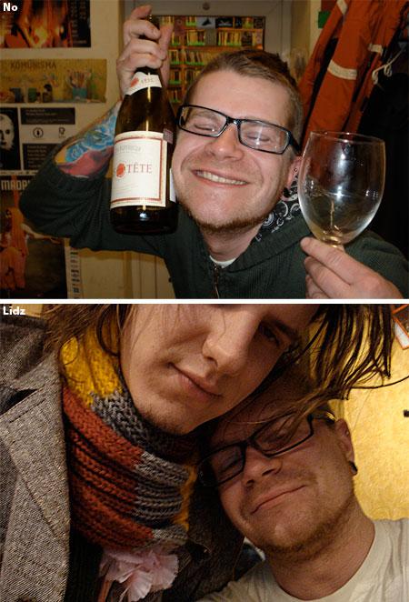 Vīna degustācija Ļeņingradas gaumē